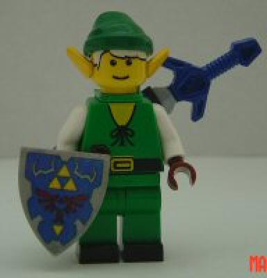 Lego Link from Legend of Zelda