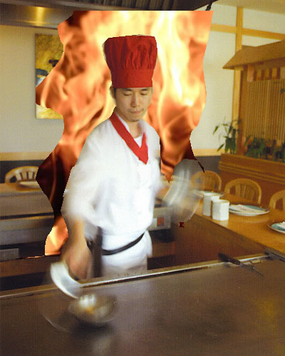 Hibachi Fire