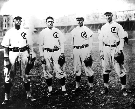 1908 Chicago Cubs Infield
