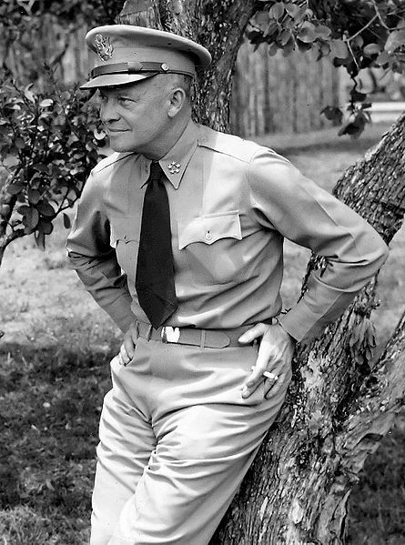 Dwight D. Eisenhower in uniform