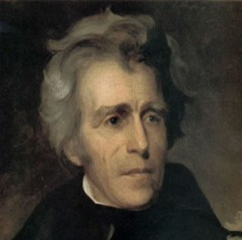 Andrew Jackson President from Tennessee