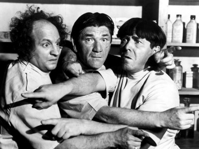 Larry, Shemp, and Moe
