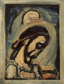 Rouault Jesus Praying