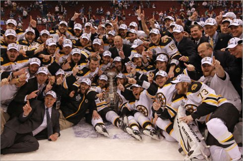 Boston Bruins Stanley Cup (Barry Chin/Globe Staff)