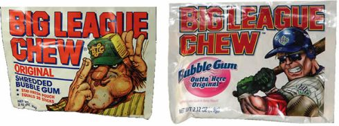 Big League Chew Shredded Gum