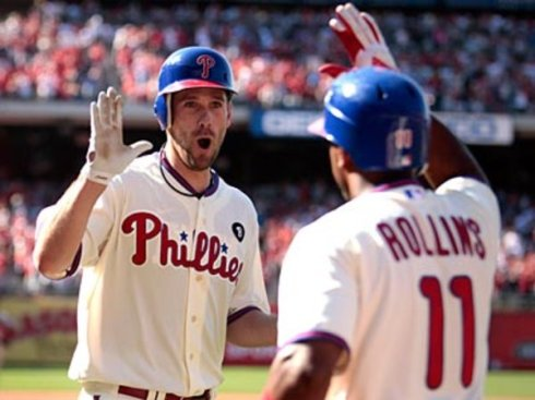 Cliff Lee Home Run