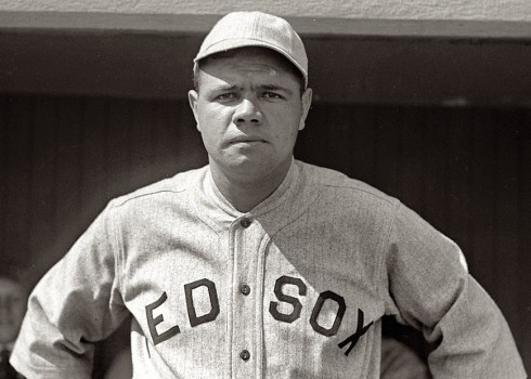 Babe Ruth Red Sox