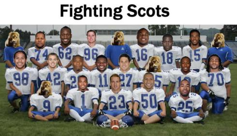 My Fantasy Football Team Photo: The Fighting Scots