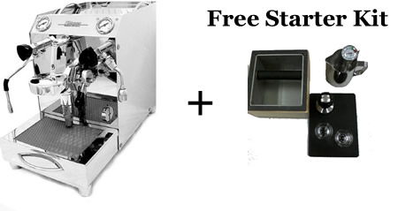 Home Espresso Machine Plus Free Starter Kit