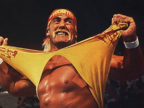 Hulk Hogan Ripping Shirt