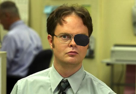 Dwight Schrute Eye Patch