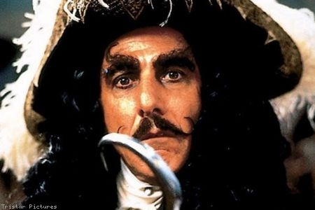 Dustin Hoffman as Captain Hook