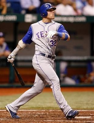 Josh Hamilton at bat