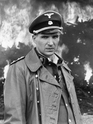 Ralph Fiennes in Schindlers List