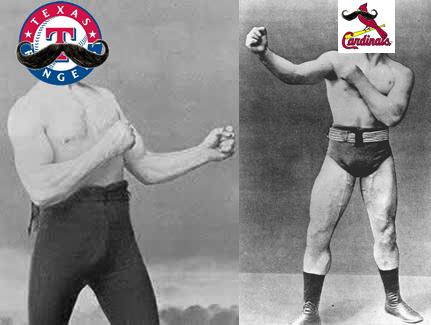 2011 World Series Rangers vs Cardinals