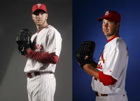 Roy Halladay vs Chris Carpenter