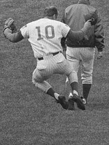 Ron Santo Clicking His Heels