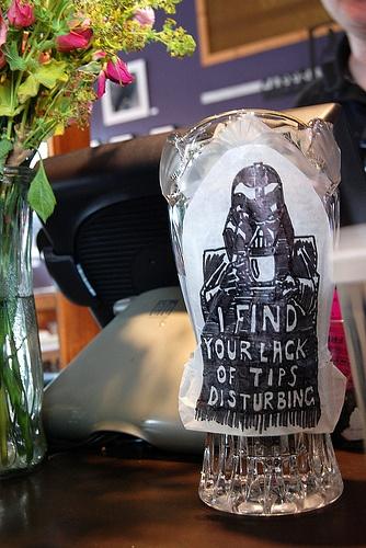 Darth Vader Tip Jar