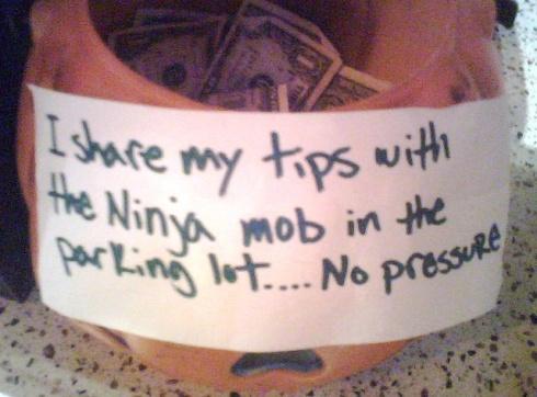 Ninja Tip Sharing