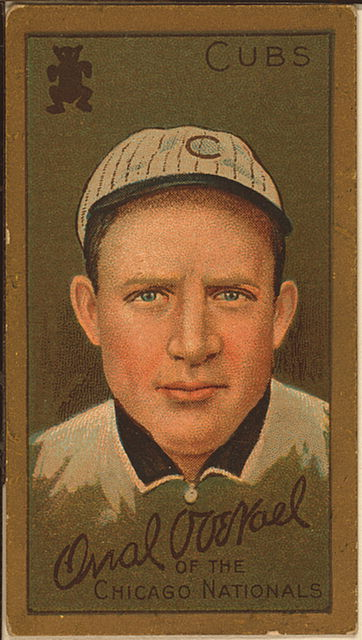 Orval Overall 1911 Baseball Card