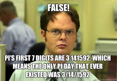 Dwight Schrute Pi Day