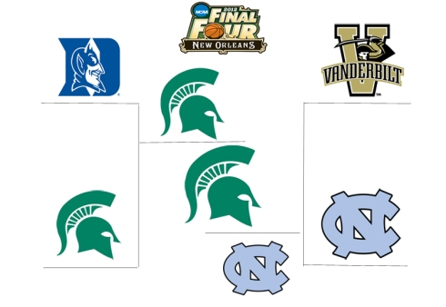 My 2012 Final Four Bracket