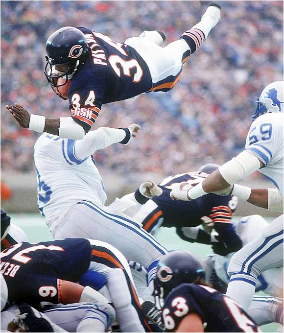 Walter Payton | For Aslan...and the Volunteer StateWalter Payton Jumping Touchdown