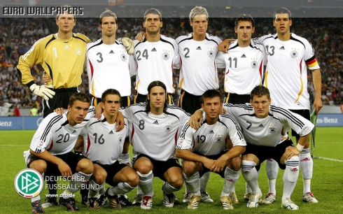 German National Soccer Team UEFA 2012