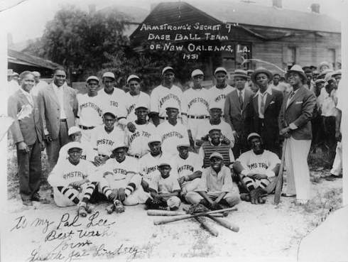 Louis Armstrong owned a negro league team