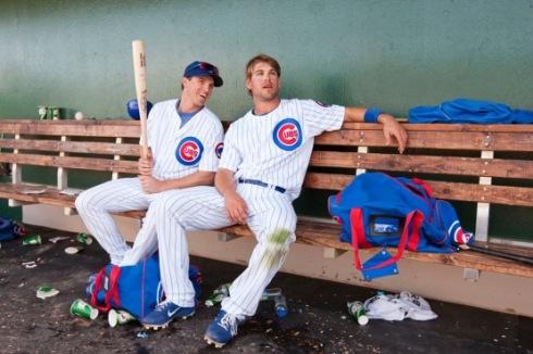 Josh Vitters (3B) and Brett Jackson (CF)