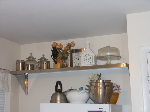 Stainless Wall Shelf for kitchen