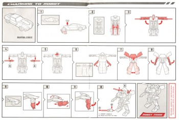 Transformer Toy Instructions