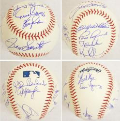 Cubs 1969 Team Autograph Ball