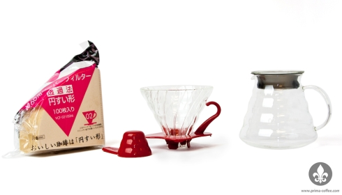 Hario V60 Coffee Brewing Set-up
