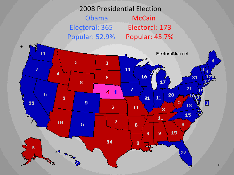 us election 2008 essay 2008 presidential, senate and house results and analysis with a brief history of us electoral politics since the civil war by adrian beaumont special to thegreenpaperscom.