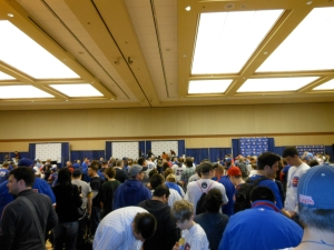 Cubs Convention Line for Ernie Banks