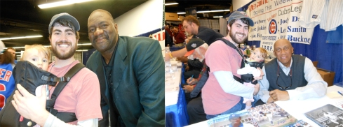 Lee Smith - 7x All Star and 3rd All-time in Saves with 478Fergie Jenkins - Hall of Famer and Cy Young Award Recipient